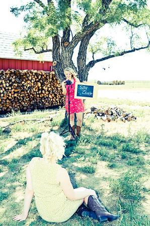Brittany Scott Sheldon and Holly Pampa Seniors 2013