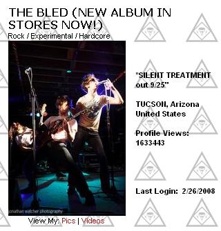 The Bled - MySpace Photo
