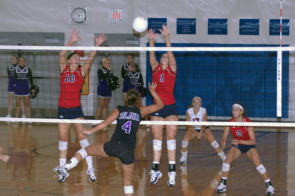 Var Volleyball vs Blair 9/11/08