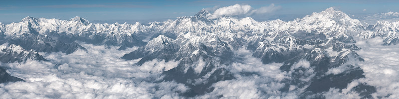 Mount Everest and Himalaya Mountains