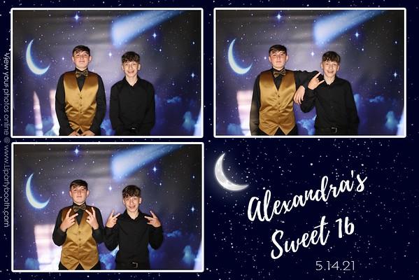 Alexandra's Sweet 16
