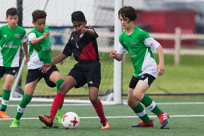 20170617 U13 boys, North Toronto Nitros vs West Ottawa Soccer Warriors