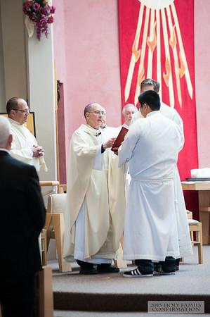 Confirmation Mass 2015