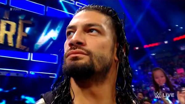 Roman Reigns - Raw Screencaps (July 30, 2018)