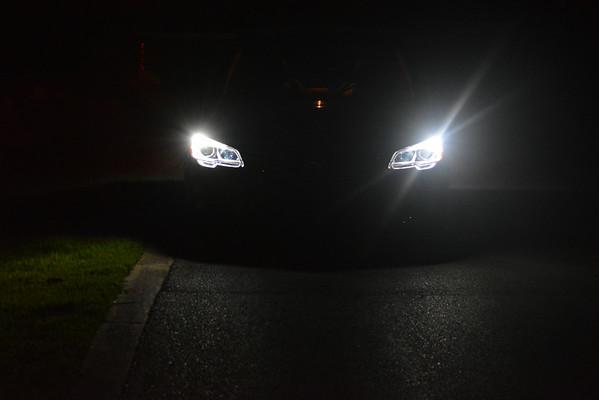 WRX front lighting upgrade pics