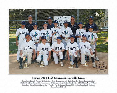 2012 Grays Spring Champs
