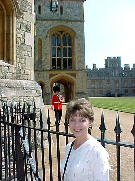 Betty and Guard -Windsor Castle.JPG