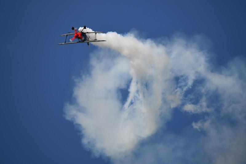 Skip Stewart Biplane Demonstration
