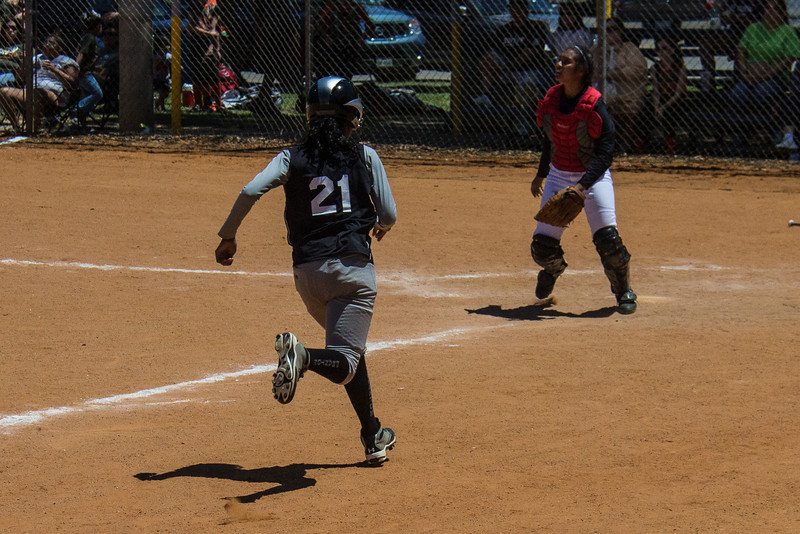 Azia brings in another run in the first inning