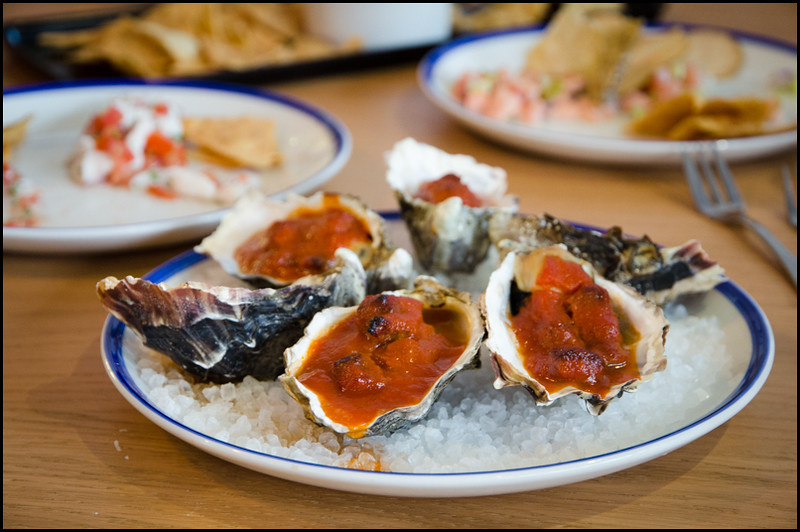 Baked oysters - Sons of Baja