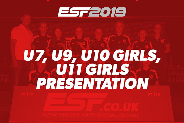 U7, U9, U10 GIRLS, U11 GIRLS PRESENTATION