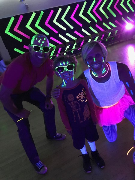 SEPTEMBER 15TH, 2017 | Crocker Riverside Family Glow Night Dance