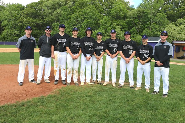 May 15, 2019 Baseball Sr Day festivities and Player/Parent Introductions , photos by R DeBoer