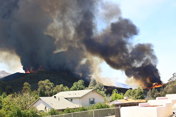 Cocos Fire 05-15-2014