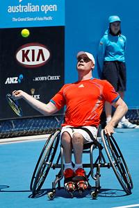Australian Open 2012 - Wheelchair