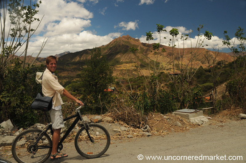 Biking Around Vilcabamba, Ecuador