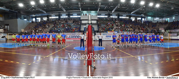 Puglia - Piemonte #Finale #Maschile #TDRVolley2016