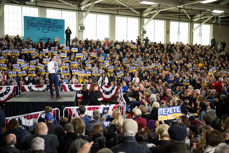 'Get Out The Vote Rally'  - Pete Buttigieg