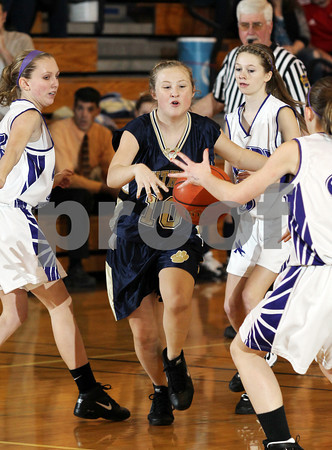 2013 Northern Potter Girls JV Basketball @ Coudersport