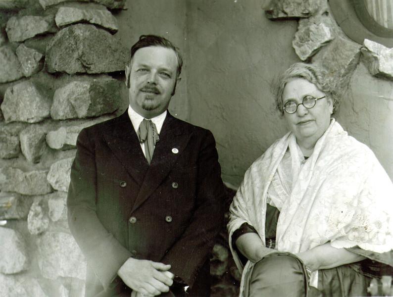 J. Wayne & Maude Eldredge