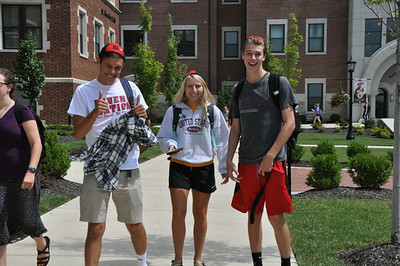 Fall 2014 ~ First week of classes