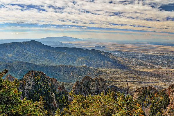 Sandia Peak outside Albuquerque, New Mexico - Fri, Oct 2, 2015