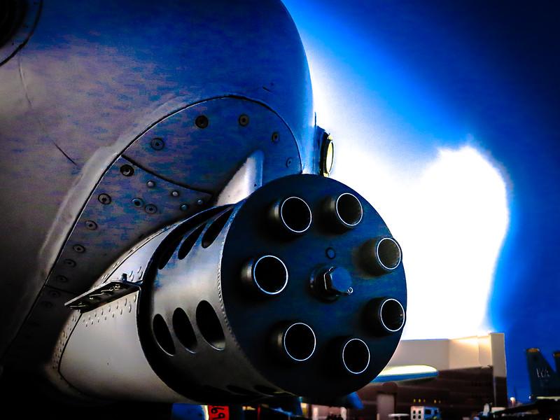 A-10 Thunderbird II's  GAU-8/A Avenger Cannon