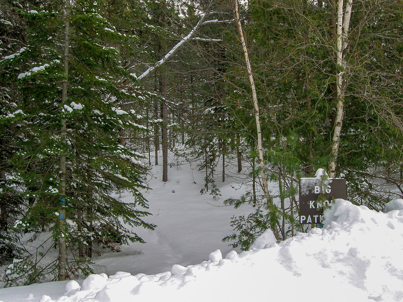 Big Knob-Crow Lake Pathway Trailhead