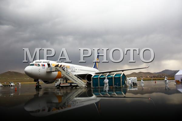 Сөүл-Улаанбаатар чиглэлийн онгоц газардлаа