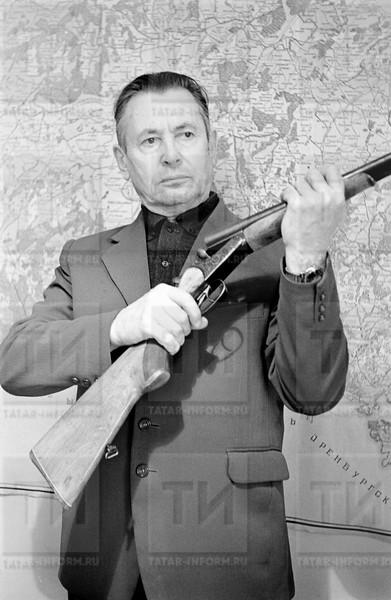 Охотник Гребнев Никол Никол  Охота февраль 1988г