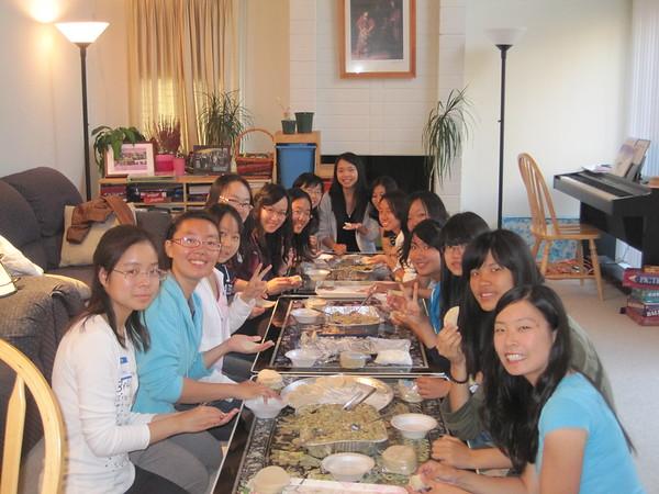 IGSM Dumpling Parties Sept. 10, 2011