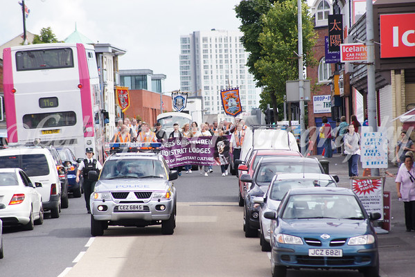 No' 4 District Protest Parade Woodvale Road