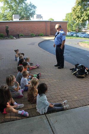 Firefighters Visit to EC