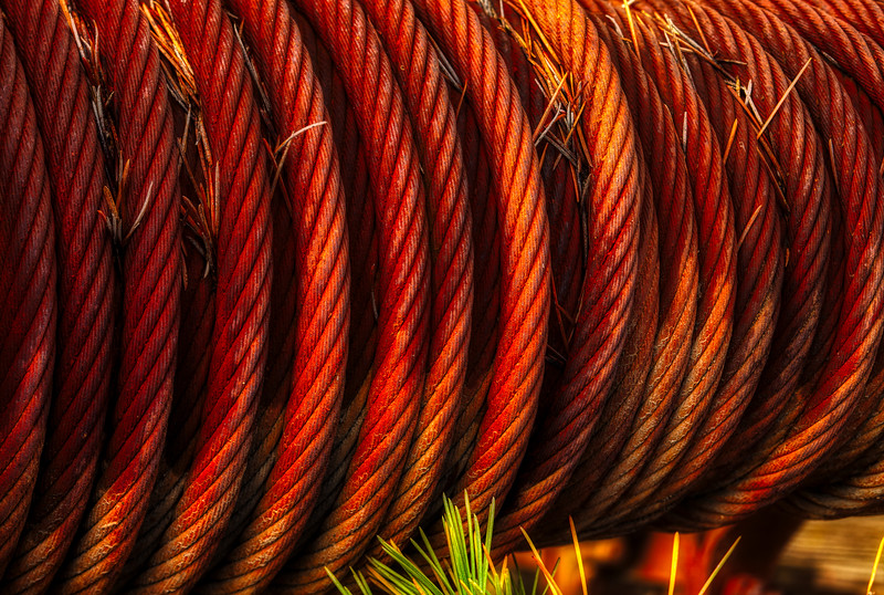 Cable, Casa de Fruita, Hollister, California, 2010