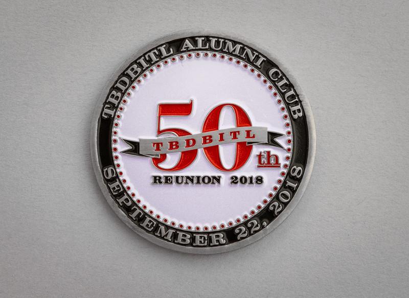 Handsome 50th Reunion commemorative coin