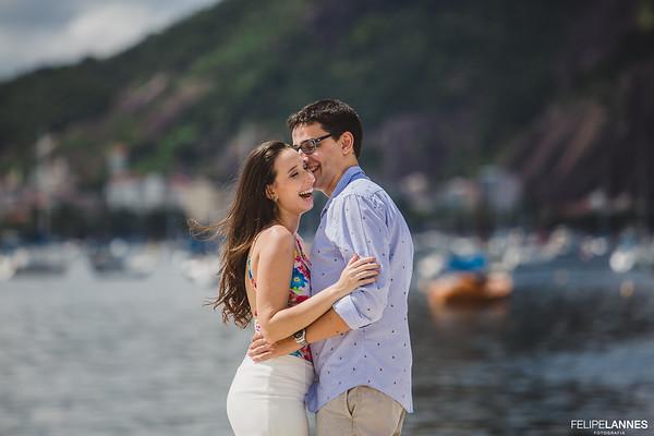 Ensaio Casal: Alessandra e Daniel