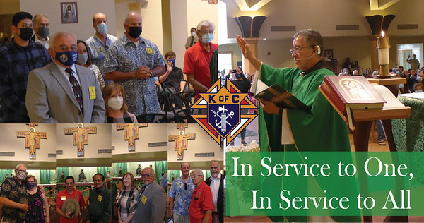 06-13-2021 Blessing Knights of Columbus Service