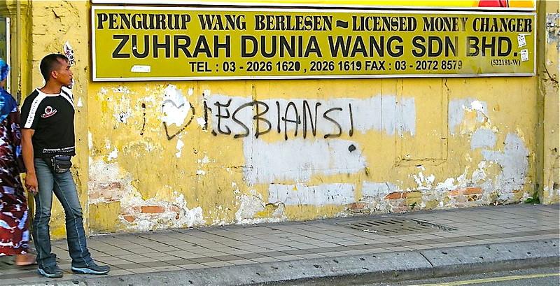 Kuala Lumpur graffiti
