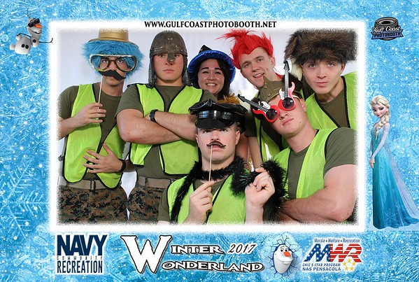 MWR Winter Wonderland 2017 Photo Booth