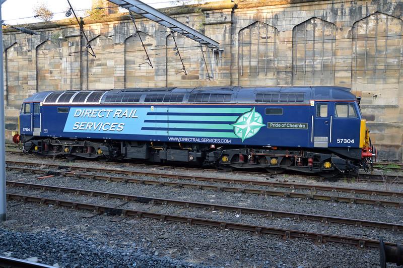 57304 'Pride of Cheshire' seen at Carlisle.