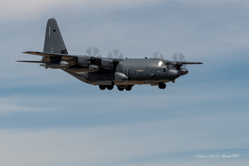 Other sights at ABQ during the visit to Wings of Freedom: C-130