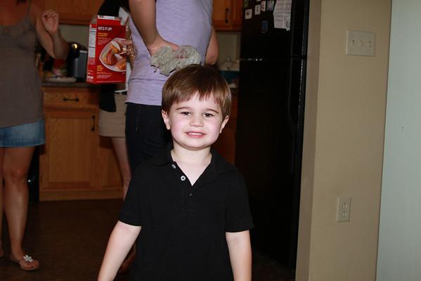 Braydens Birthday Party 090410
