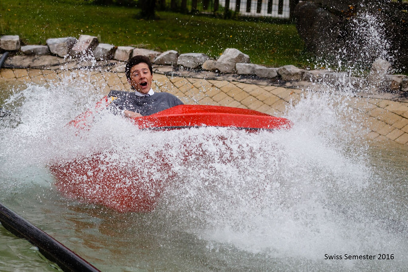 Hunter—splash down