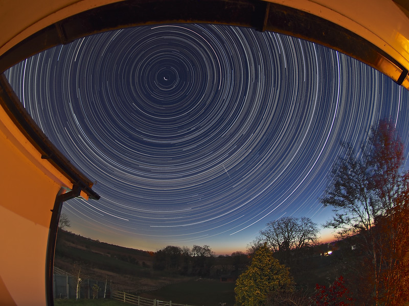 Bedroom Star Trail