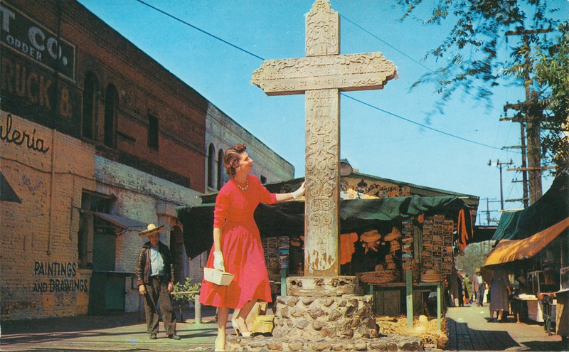 Olvera Street Cross