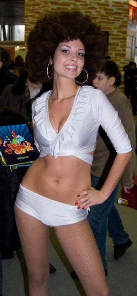 Buka girl on Igromir 2008