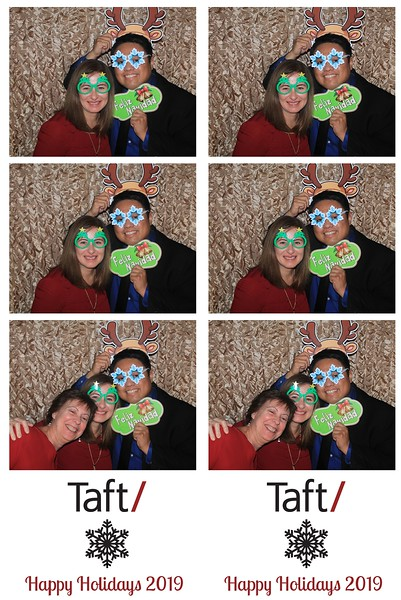 "Taft ""Holiday Party 2019"""