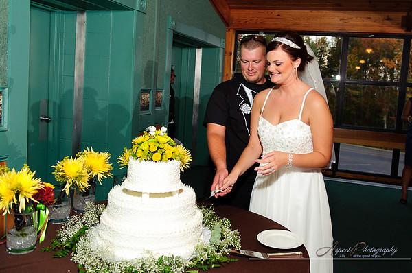 Jaime & John's wedding reception