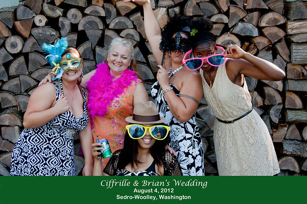 Ciffrille & Brian Wedding Photobooth