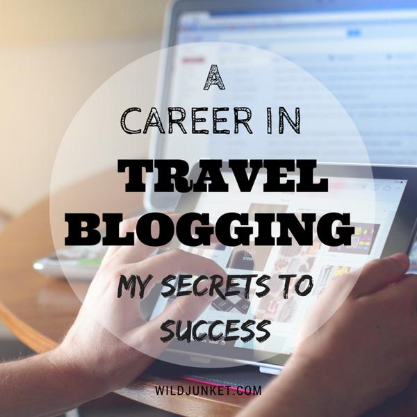 career in travel blogging